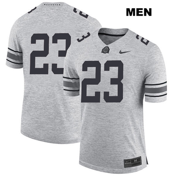 De'Shawn White Nike Mens Stitched Gray Ohio State Buckeyes Authentic no. 23 College Football Jersey - Without Name - De'Shawn White Jersey