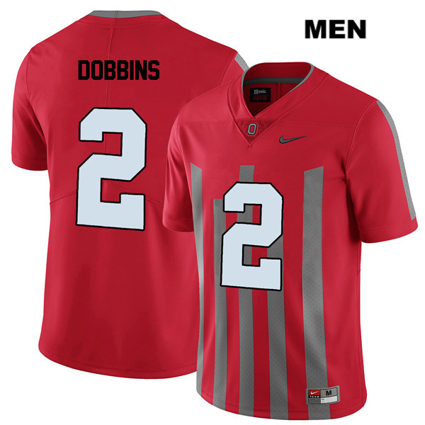 J.K. Dobbins Mens Elite Stitched Red Nike Ohio State Buckeyes Authentic no.  2 College Football Jersey 67c348f69