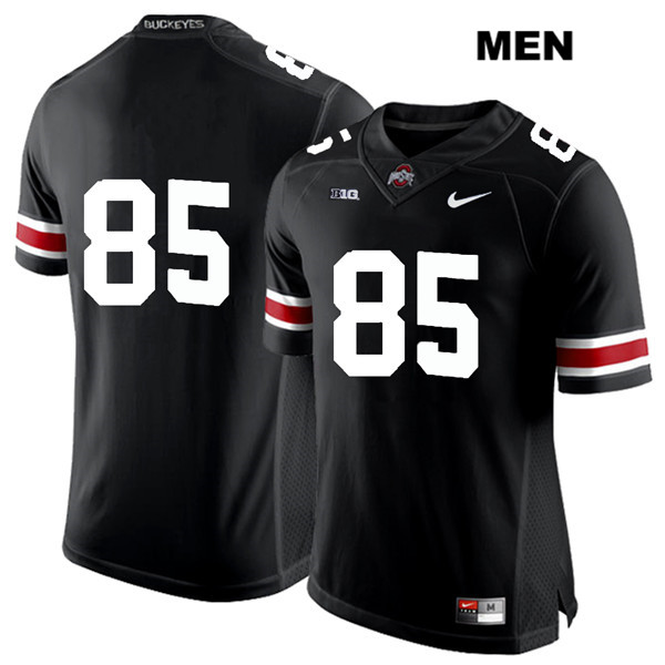 L'Christian Smith Nike Mens Black Stitched Ohio State Buckeyes White Font Authentic no. 85 College Football Jersey - Without Name - L'Christian Smith Jersey