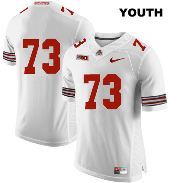 Michael Jordan Youth White Ohio State Buckeyes Nike Authentic Stitched no. 73 College Football Jersey - Without Name - Michael Jordan Jersey