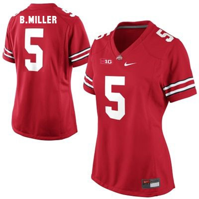 Braxton Miller Youth Red Nike Ohio State Buckeyes OSU College Football NO. 5 Jersey - Braxton Miller Jersey