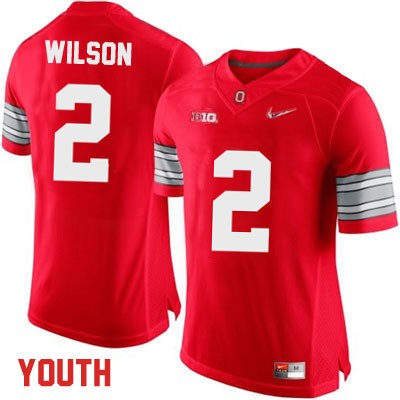 Dontre Wilson Playoffs Youth Red Ohio State Buckeyes Nike College Football OSU NO. 2 Jersey - Dontre Wilson Jersey
