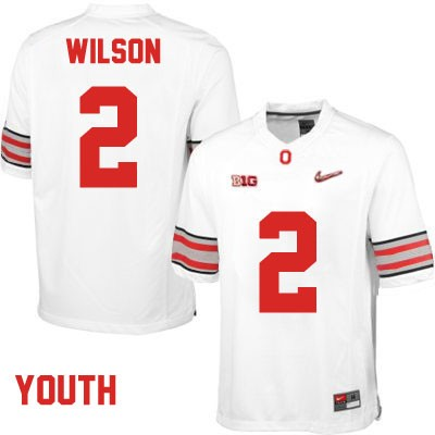 Dontre Wilson Youth Playoffs White OSU Ohio State Buckeyes Nike College Football NO. 2 Jersey - Dontre Wilson Jersey