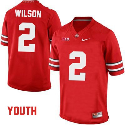 Dontre Wilson Youth OSU Red Nike Ohio State Buckeyes College Football NO. 2 Jersey - Dontre Wilson Jersey