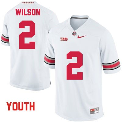 Dontre Wilson Nike OSU Youth White Ohio State Buckeyes College Football NO. 2 Jersey - Dontre Wilson Jersey