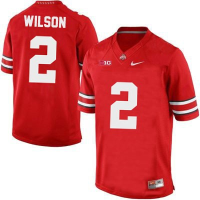 Dontre Wilson Mens Red Ohio State Buckeyes OSU College Football Nike NO. 2 Jersey - Dontre Wilson Jersey