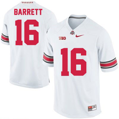 J.T. Barrett Nike Mens White Ohio State Buckeyes College Football NO. 16 OSU Jersey - J.T. Barrett Jersey