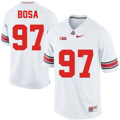 Joey Bosa Mens Nike White Ohio State