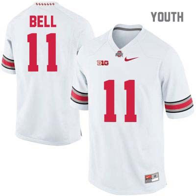 Vonn Bell Youth White OSU Nike Ohio State Buckeyes College Football NO. 11 Jersey - Vonn Bell Jersey