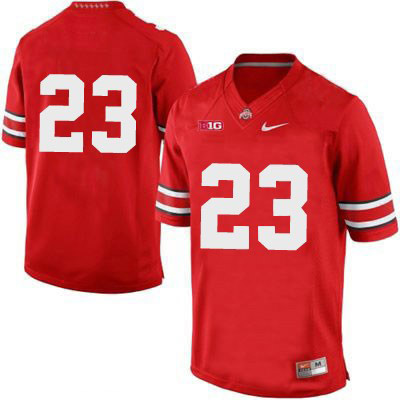 Mens Red Ohio State Buckeyes College Football OSU NO. 23 Nike Jersey - Ohio State Buckeyes NO. Jersey