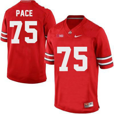 Orlando Pace OSU Mens Red Ohio State Buckeyes Nike College Football NO. 75 Jersey