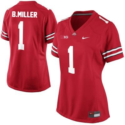 Braxton Miller Nike Youth Red OSU Ohio State Buckeyes College Football NO. 1 Jersey - Braxton Miller Jersey